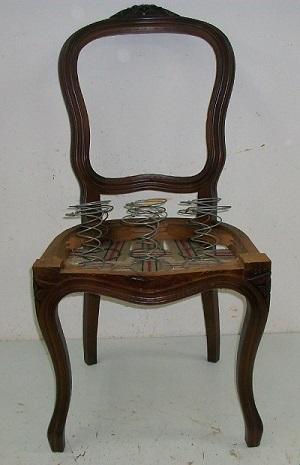 Κατασκευή καρέκλας τραπεζαρίας με σούστα βήμα-βημα